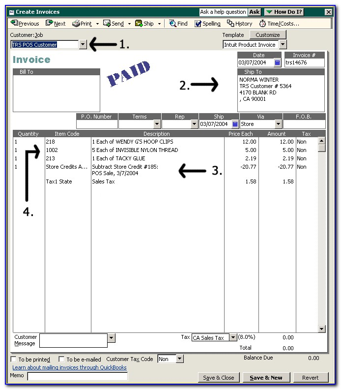 Quickbooks Online Invoice Template With Remittance Slip Vincegray2014