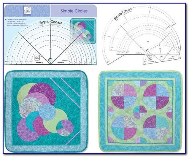 Quilting Ruler Foot Templates