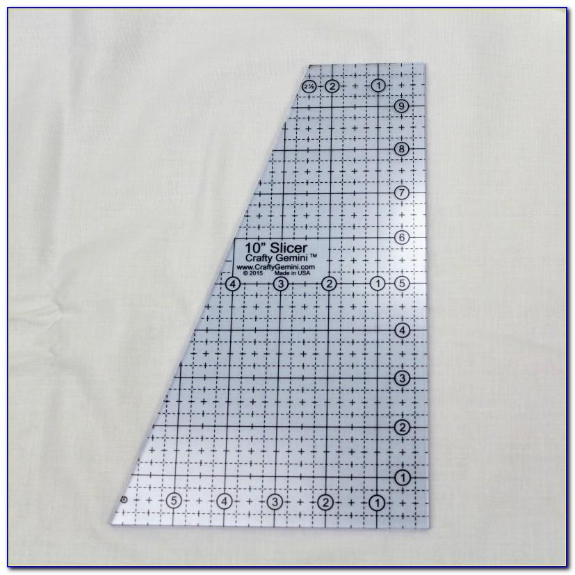 Quilting Ruler Templates