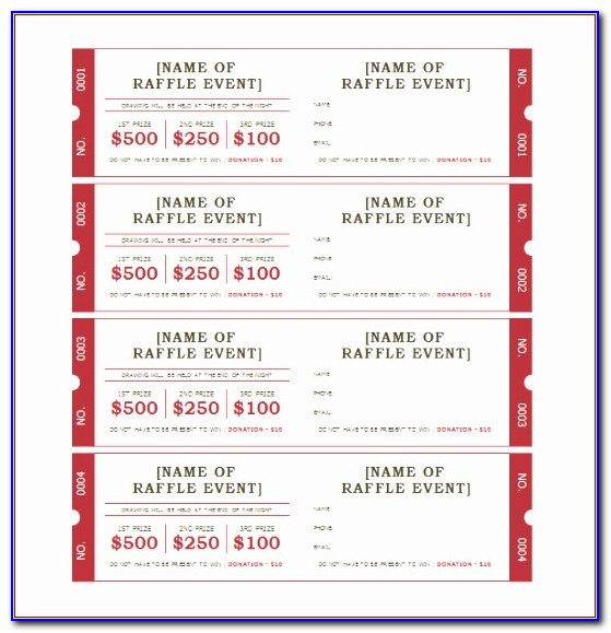 Raffle Ticket Template Excel Ct2xa Fresh Ticket Template ? 97 Free Word Excel Pdf Psd Eps Formats