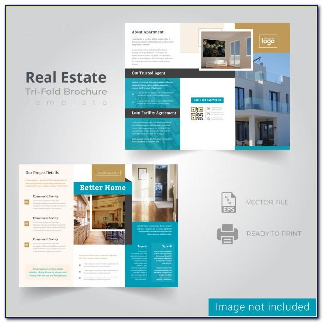 Real Estate Brochure Design Templates Free Download