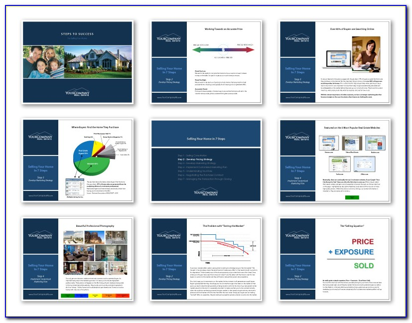 Real Estate Listing Presentation After Effects Template