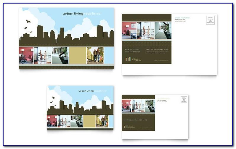 Real Estate Postcard Templates For Photoshop