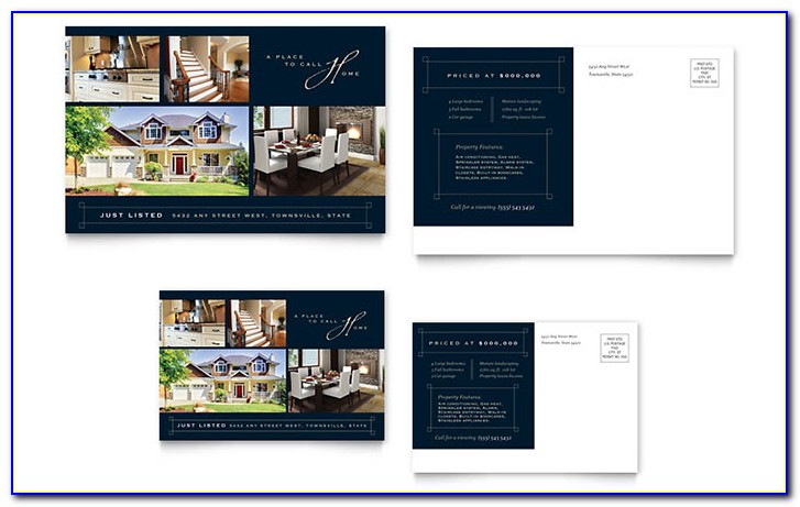 Real Estate Postcard Templates Publisher
