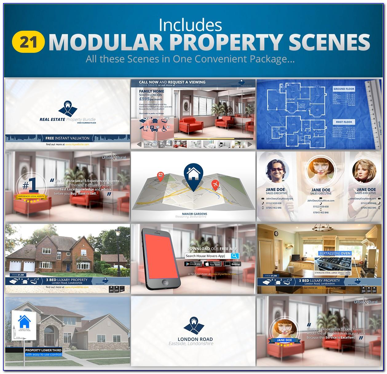 Real Estate Promo After Effects Templates