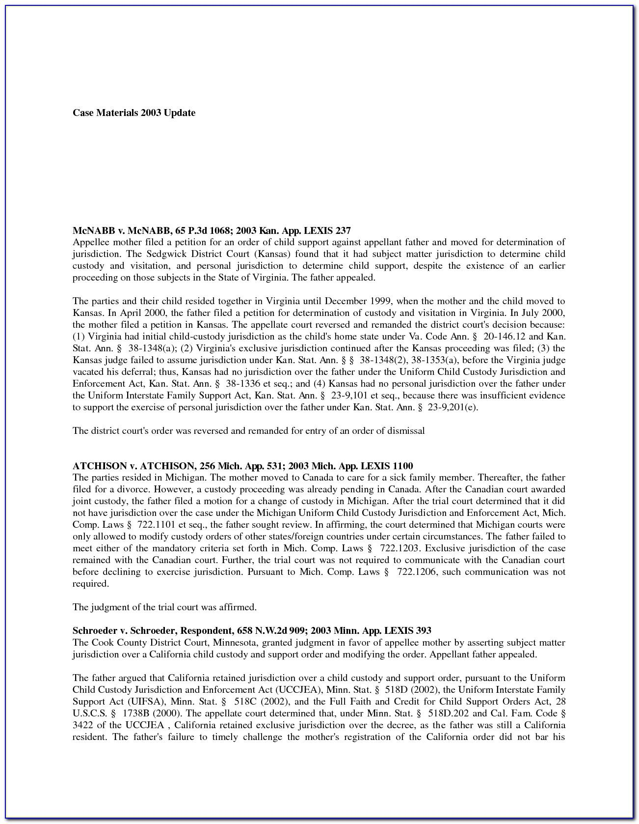 Reference Template For Settlement Agreement