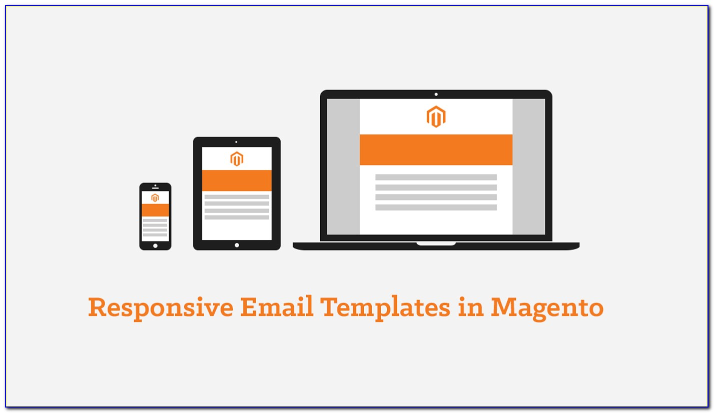 Responsive Email Template Flat Design