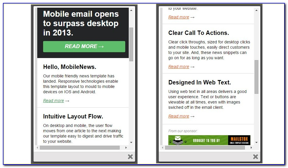 Responsive Newsletter Html Template Free Download