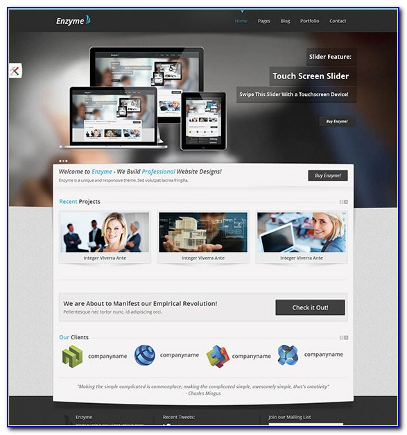 Responsive Themes Html5