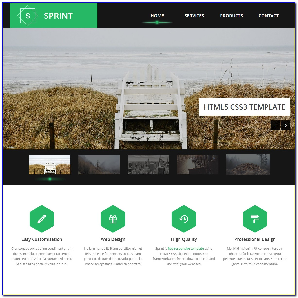 Responsive Website Templates Free Download Html5 With Css3 2017