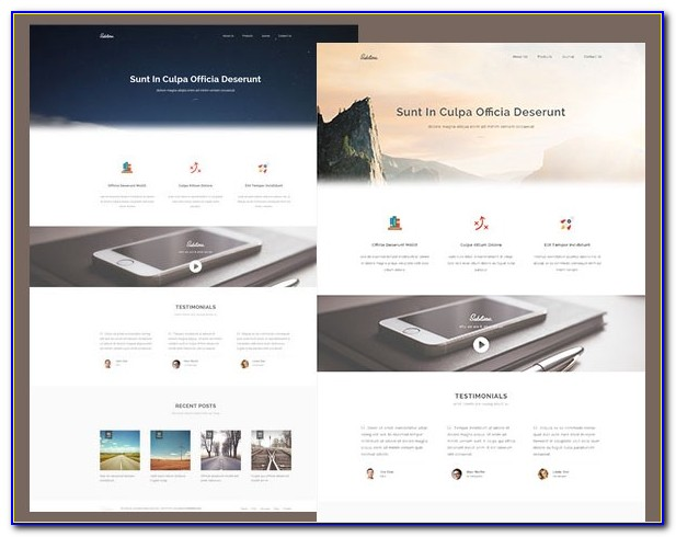 Responsive Website Templates Free Download Html5 With Css3 2019
