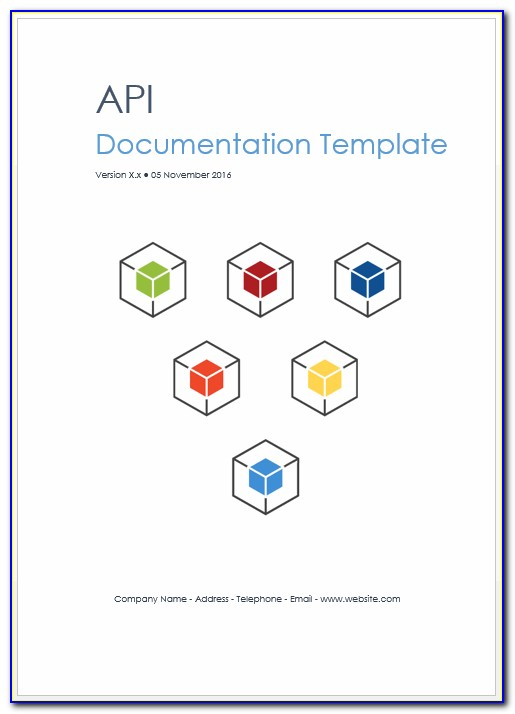 Restful Api Documentation Template