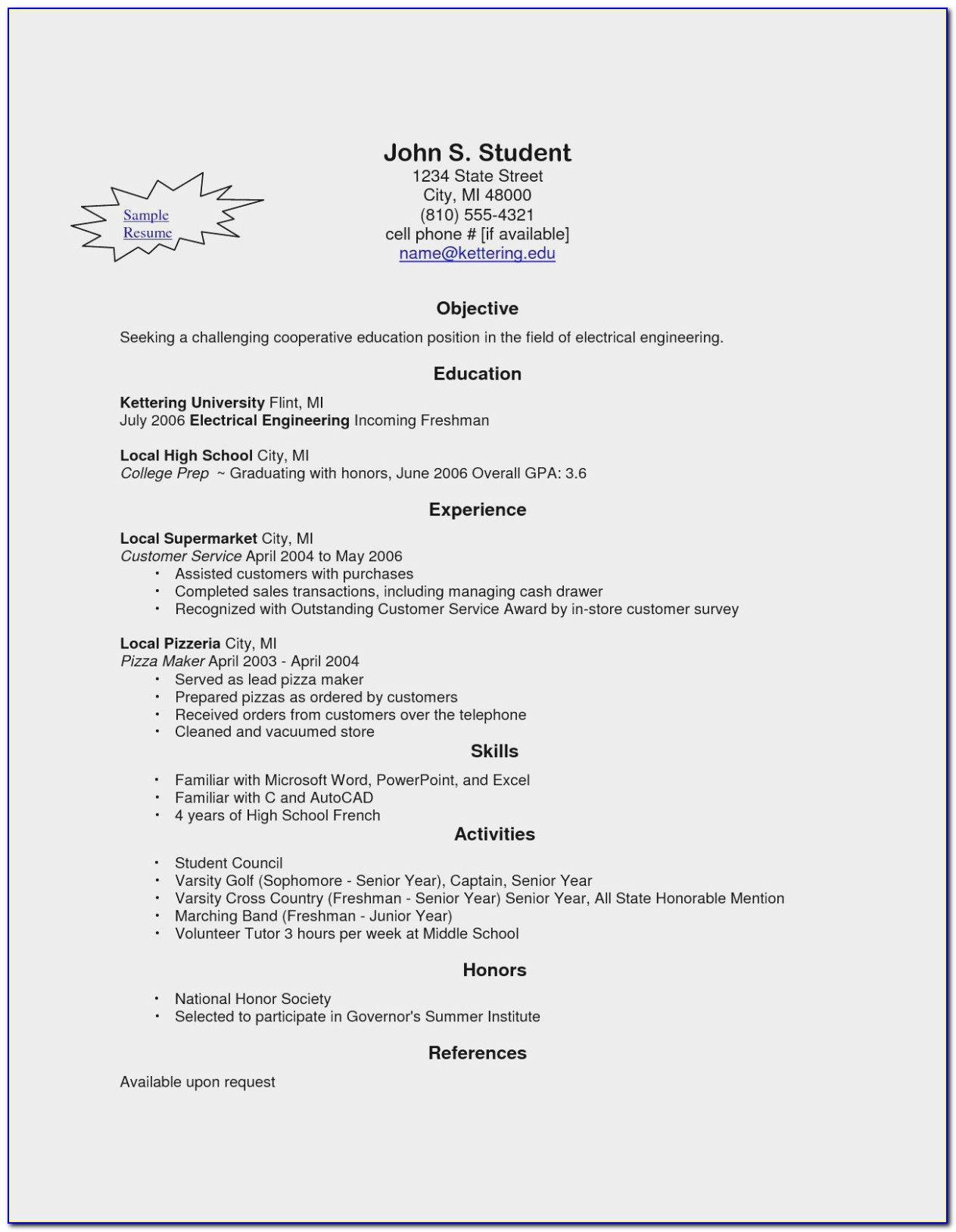 Resume Builder No Sign Up