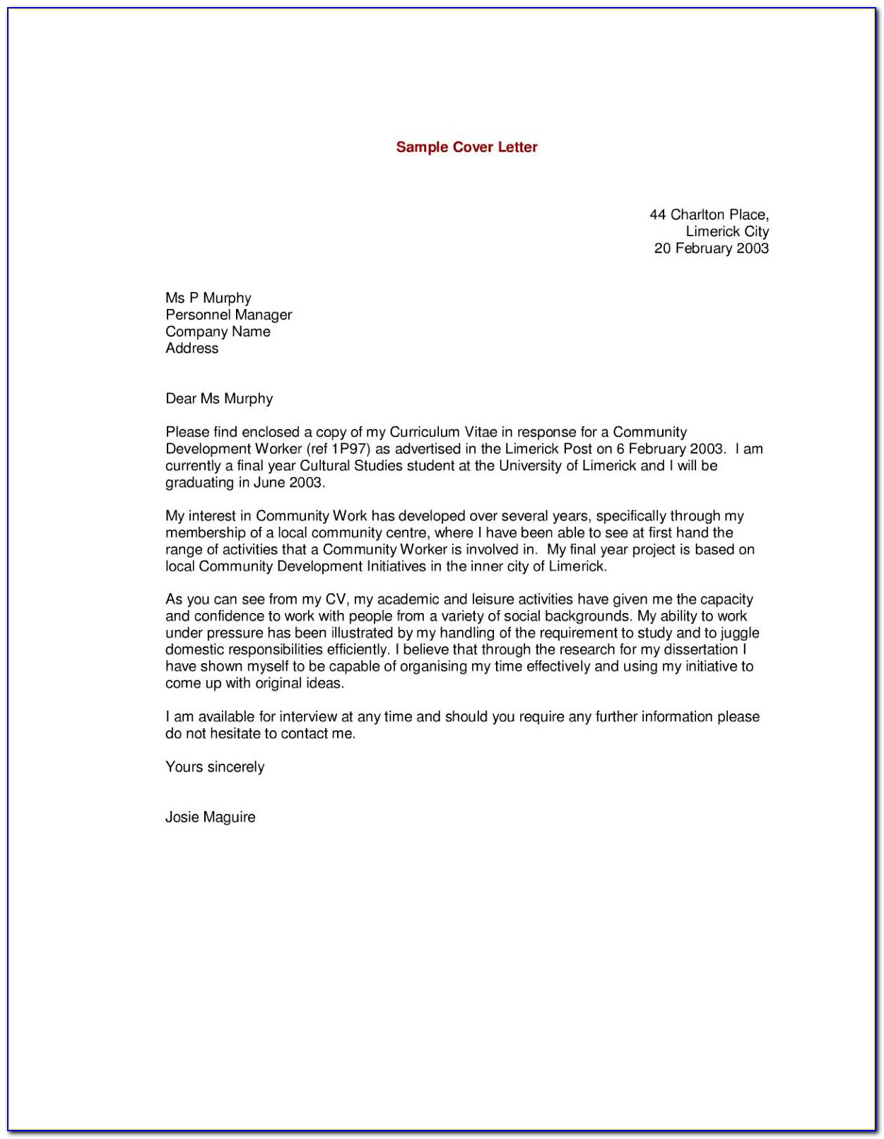 Download Free Cover Letter Templates Word Vincegray2014