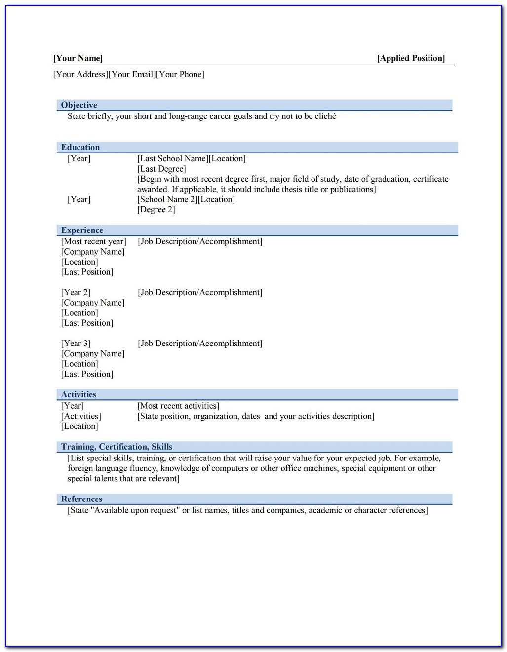Resume Creator Pro Free Download
