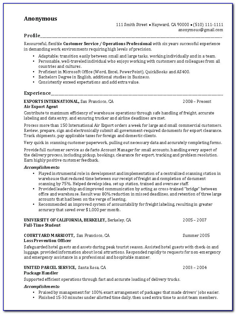 Resume Made Easy Free