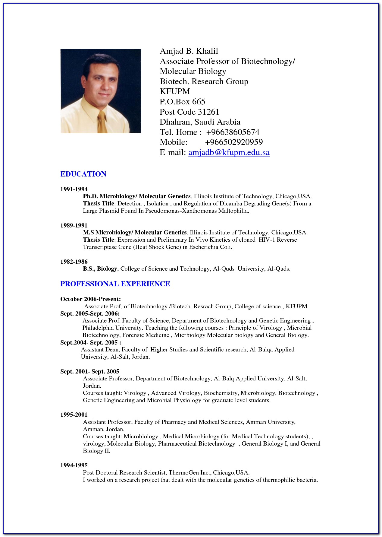 Resume Samples Doc Format Download