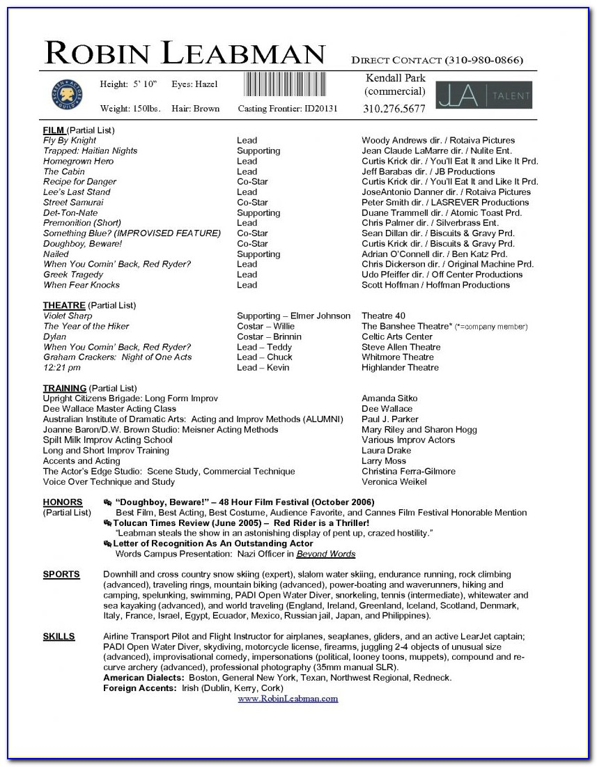 Resume Templates For Freshers In Word Format Free Download