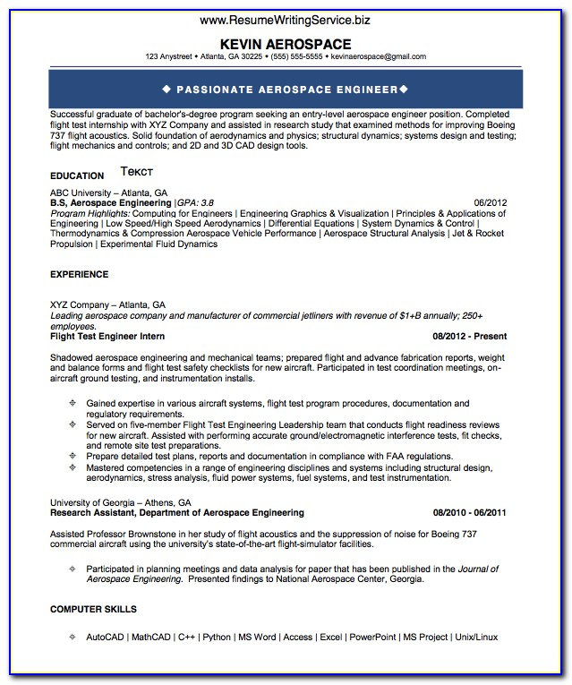 Resume For Freshers Engineers Computer Science Vincegray2014