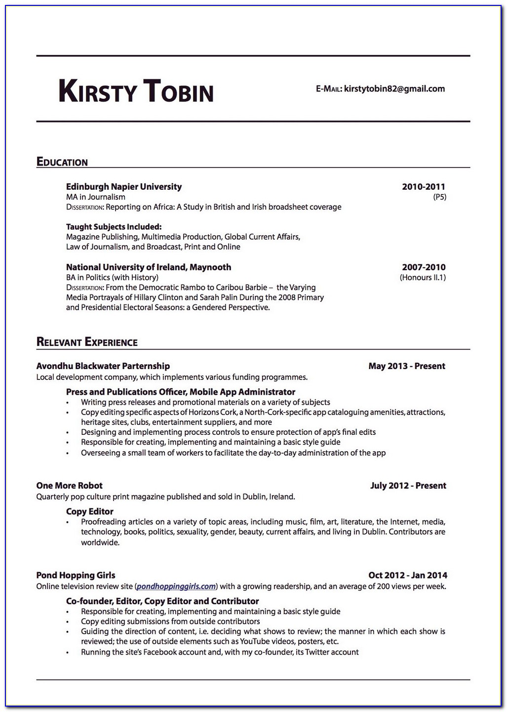 Resume Professional Writers Complaints