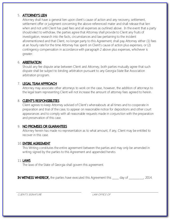 Retainer Contract Template For Graphic Designer