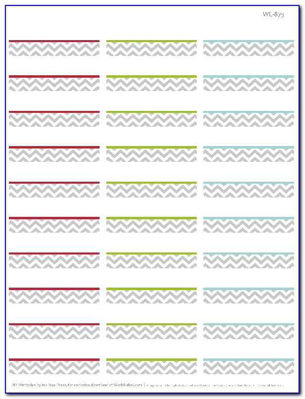 Return Address Labels Template 80 Per Sheet