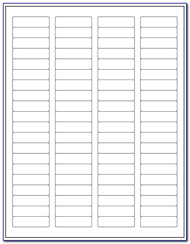 Return Address Labels Template Free