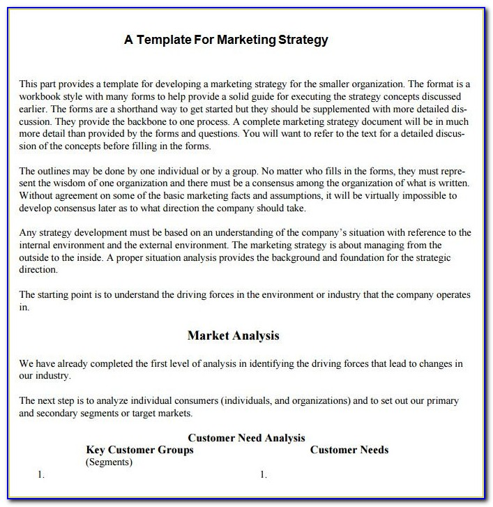 Rfp For Marketing
