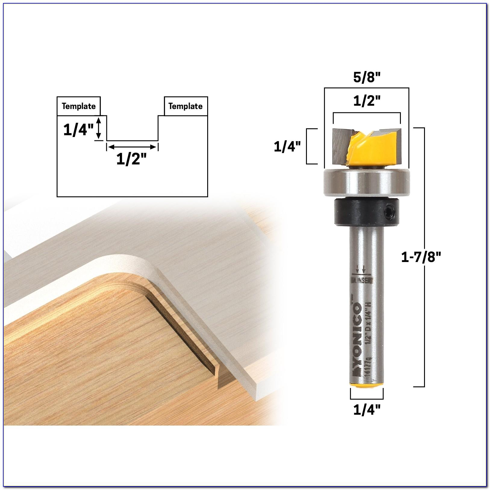 Router Bit Template Guide