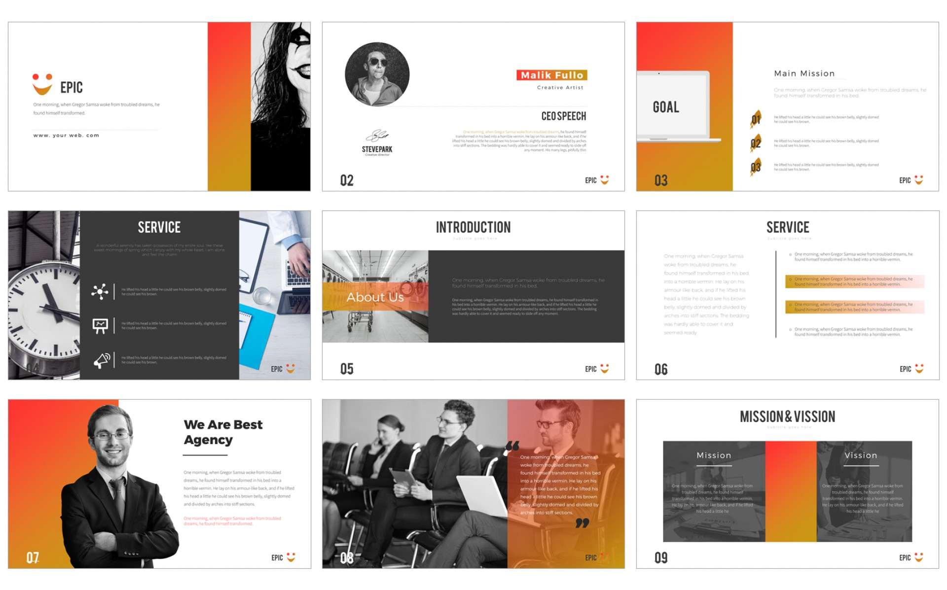 Sales Powerpoint Presentation Templates Free Download