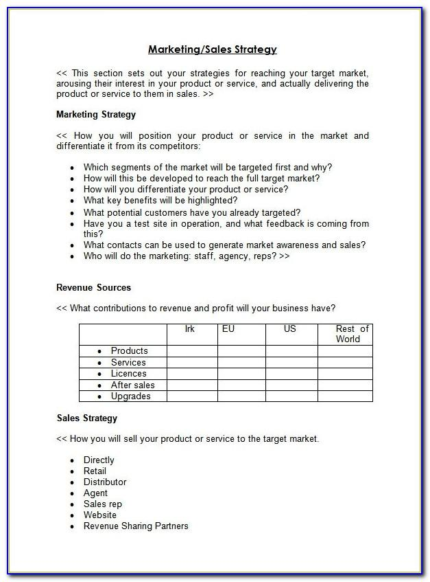 Sales Territory Management Plan Template