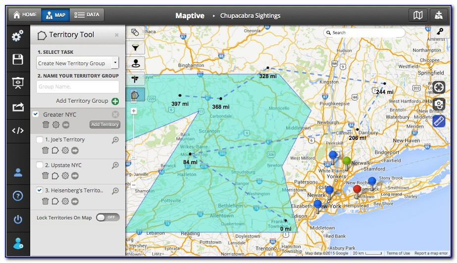Sales Territory Map Maker Free