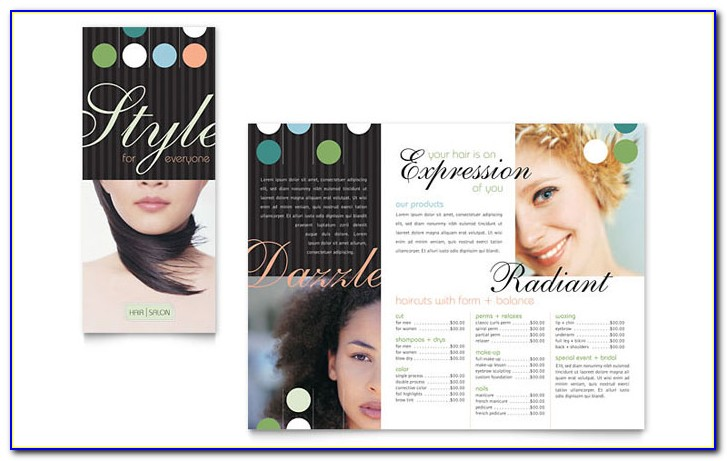Salon Flyer Template Free Download