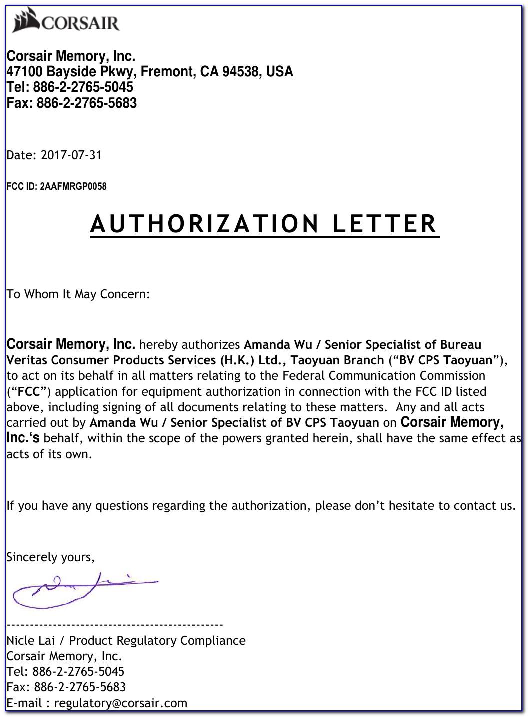 Sample Of A Power Of Attorney Document