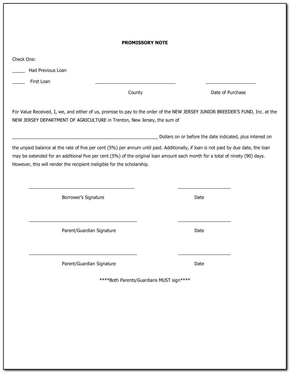 Sample Promissory Note For Personal Loan Philippines