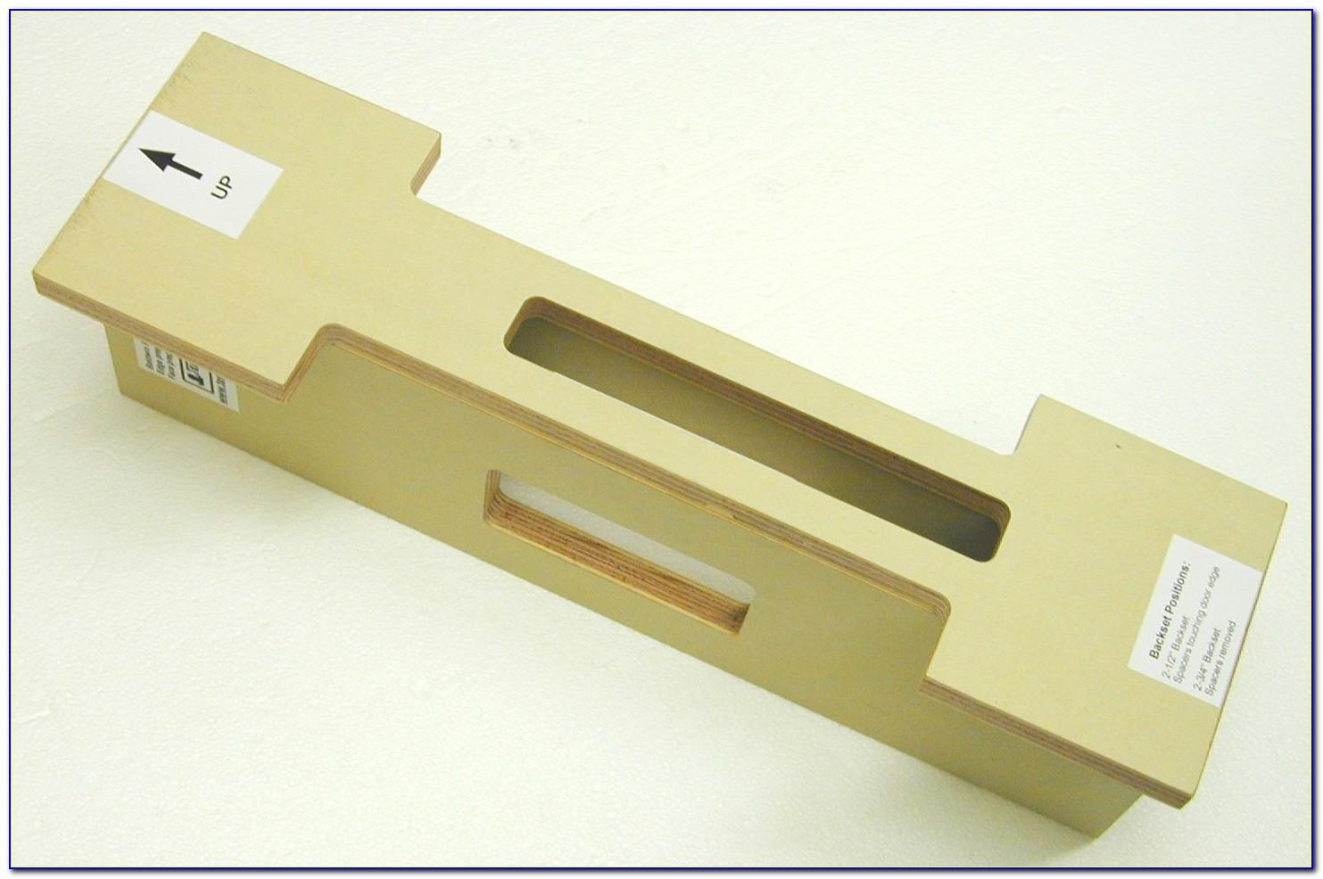 Sargent Mortise Lock Template