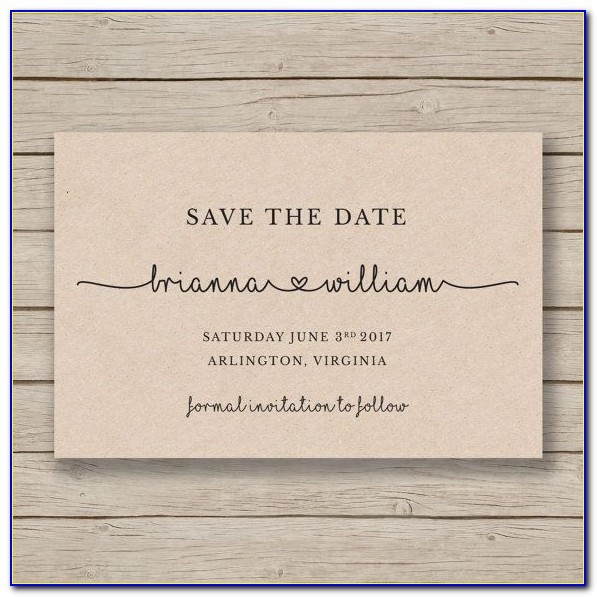 Save The Date Birthday Postcard Templates