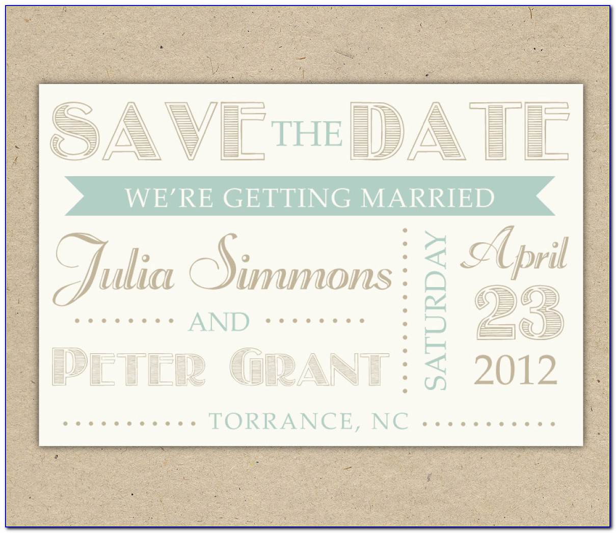 Save The Date Card Templates Word
