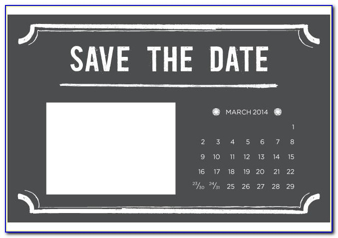 Save The Date Ms Word Templates