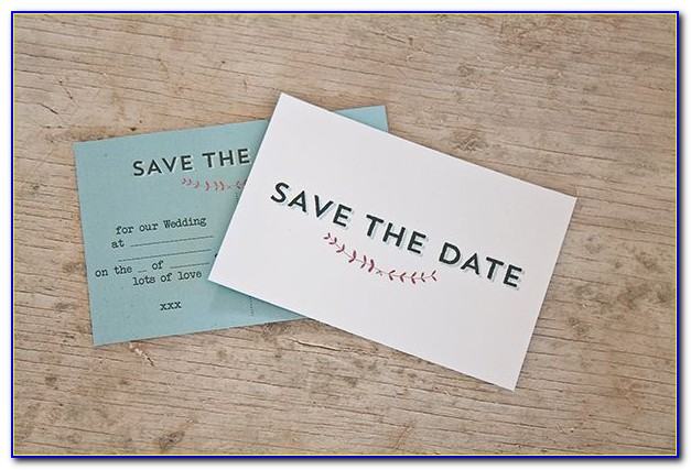 Save The Date Postcard Templates
