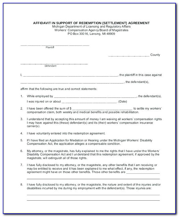 Share Redemption Agreement Template