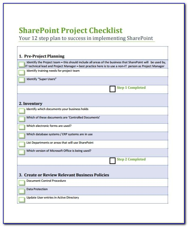 Sharepoint Proposal Example