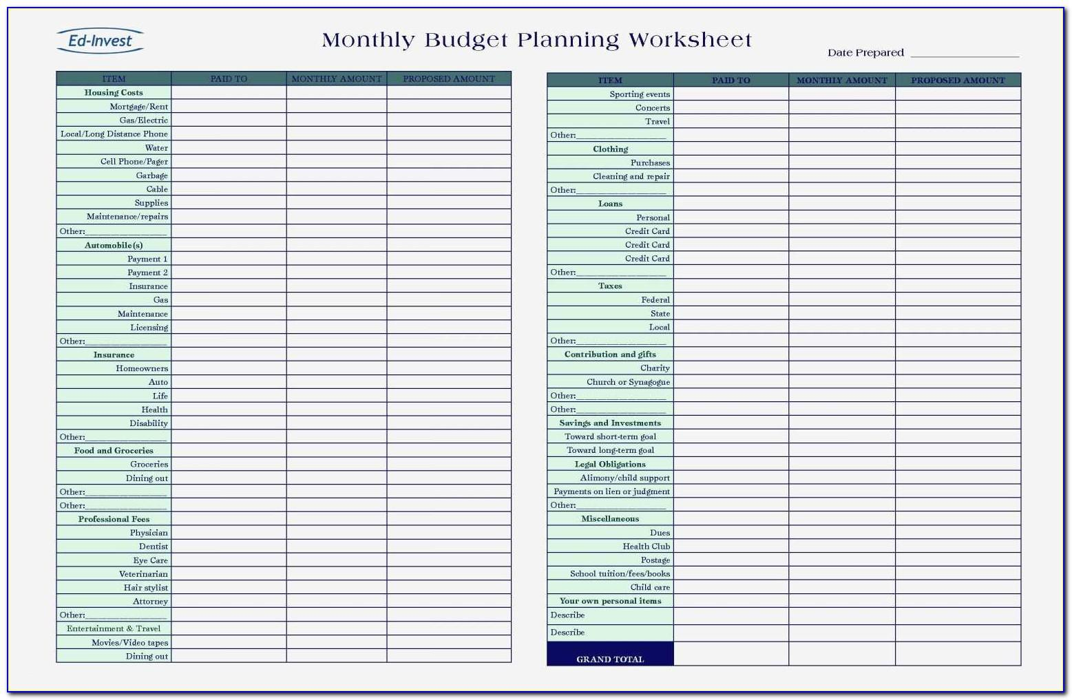 Simple Bookkeeping Template Excel