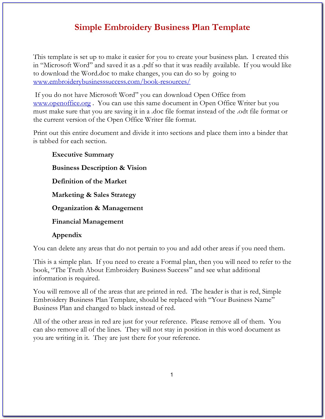 Simple Business Proposal Template Pdf