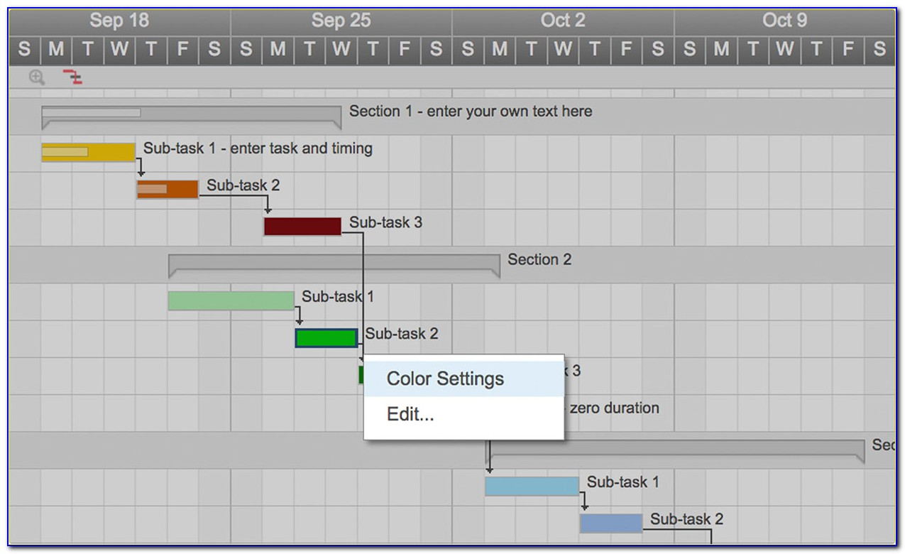 Use This Free Gantt Chart Excel Template Throughout Gantt Chart Template For Mac