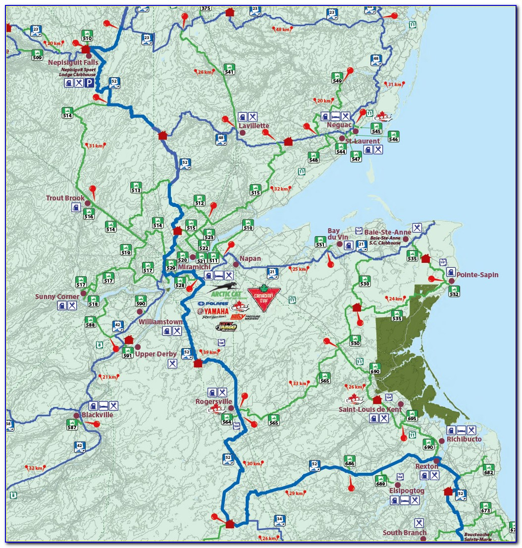 Snowmobile Trail Maps Ny