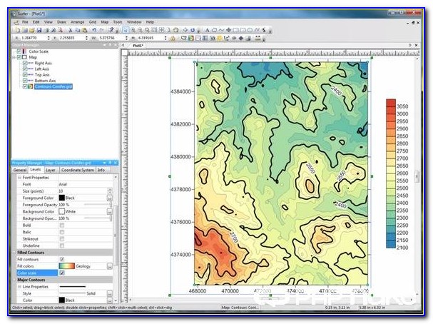 Software For Contour Mapping
