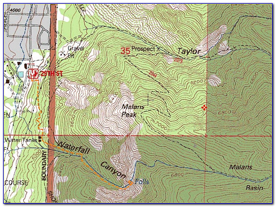 Southern Utah Hiking Maps