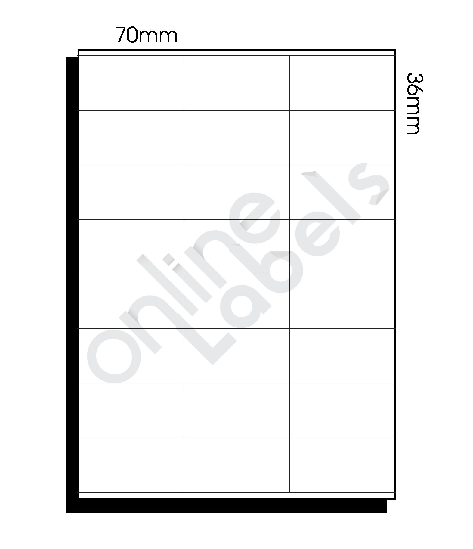 Staples Label Templates 16 Per Sheet