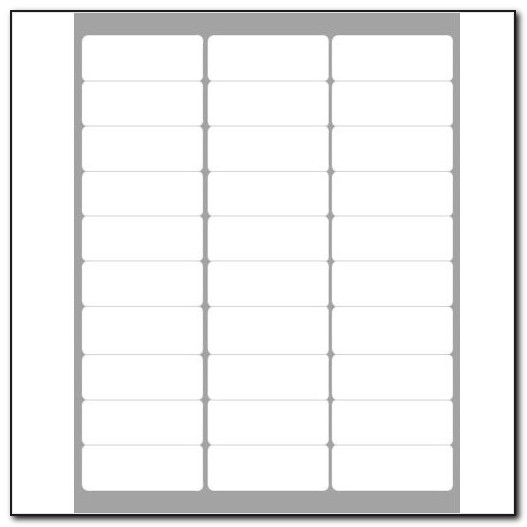 Staples Mailing Label Template 5163